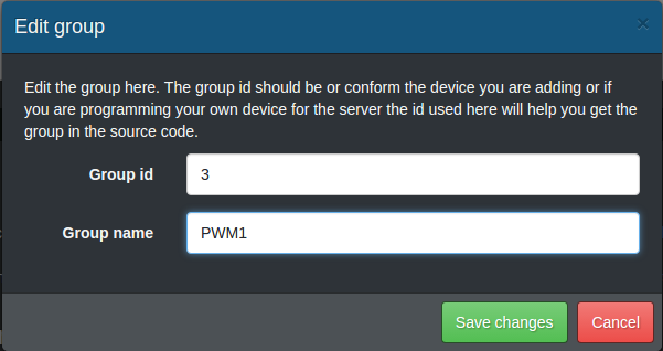 Add PWM1 group