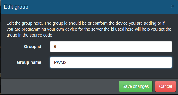 Add PWM2 Group
