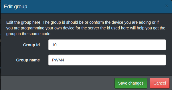 Add PWM4 group