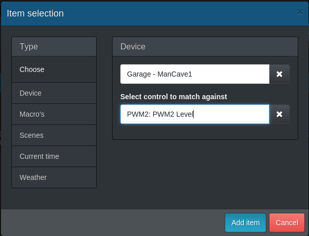 Add PWM2 to dash