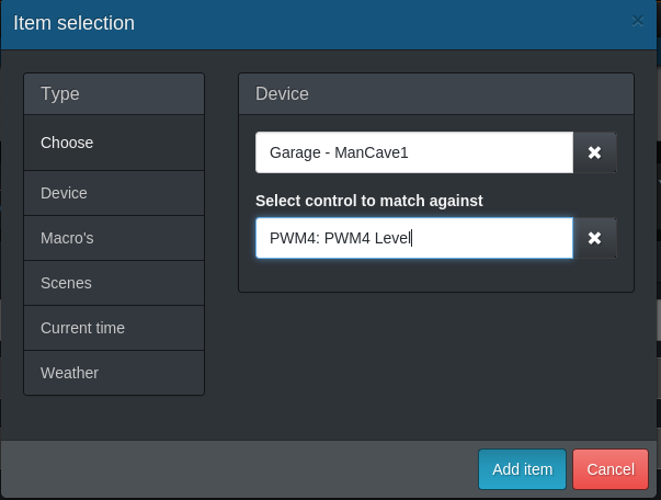 Add PWM4 to dash